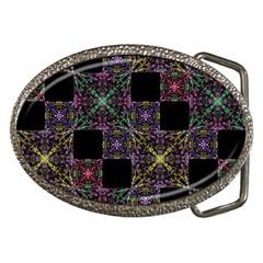 Ornate Boho Patchwork Belt Buckles