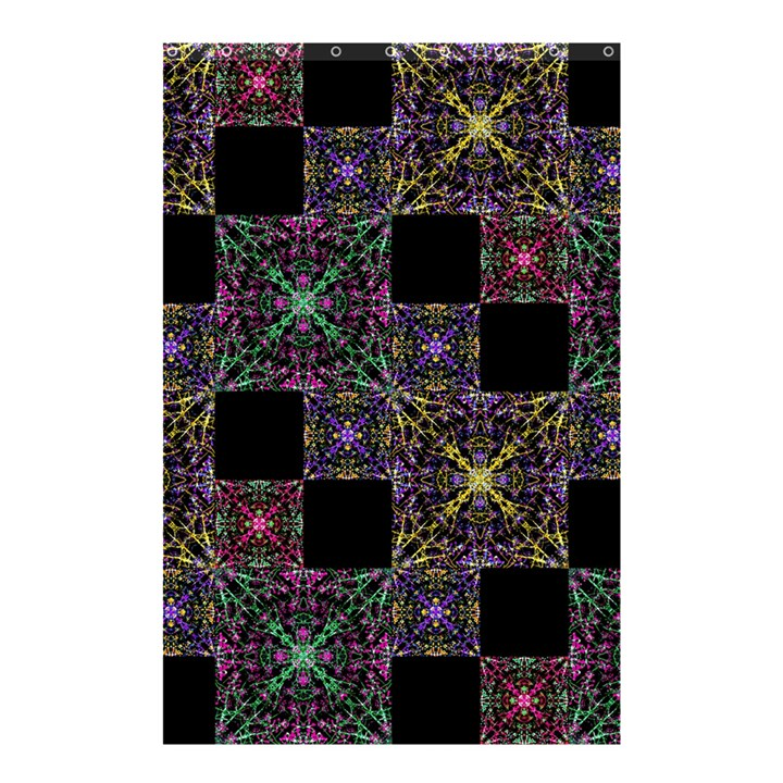 Ornate Boho Patchwork Shower Curtain 48  x 72  (Small)