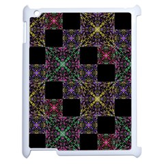 Ornate Boho Patchwork Apple iPad 2 Case (White)