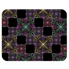 Ornate Boho Patchwork Double Sided Flano Blanket (Medium)
