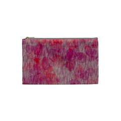 Grunge Hearts Cosmetic Bag (Small)