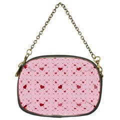Heart Squares Chain Purses (One Side)