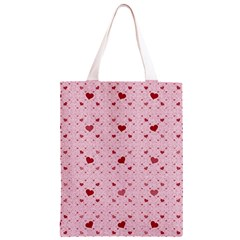 Heart Squares Classic Light Tote Bag