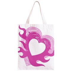 Hot Pink Love Classic Light Tote Bag