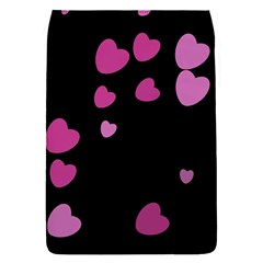 Pink Hearts Flap Covers (S)