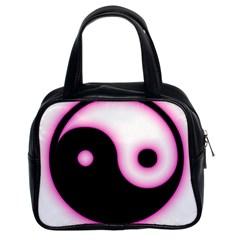 Yin Yang Glow Classic Handbags (2 Sides)