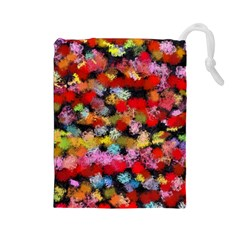Colorful brush strokes                                             Drawstring Pouch