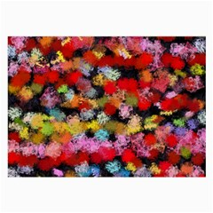 Colorful brush strokes                                             Large Glasses Cloth