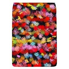 Colorful brush strokes                                             Removable Flap Cover (L)