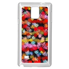 Colorful brush strokes                                             			Samsung Galaxy Note 4 Case (White)