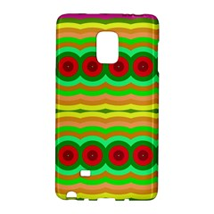 Circles and waves                                              Samsung Galaxy Note Edge Hardshell Case