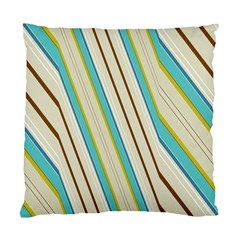 Bent stripes                                               Standard Cushion Case (Two Sides)