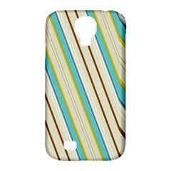 Bent stripes                                               			Samsung Galaxy S4 Classic Hardshell Case (PC+Silicone)