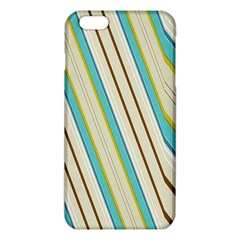 Bent stripes                                               			iPhone 6 Plus/6S Plus TPU Case