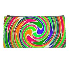 Colorful Whirlpool Watercolors                                                pencil Case