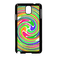 Colorful whirlpool watercolors                                                Samsung Galaxy Note 3 Neo Hardshell Case (Black)