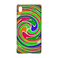 Colorful whirlpool watercolors                                                Sony Xperia Z3+ Hardshell Case