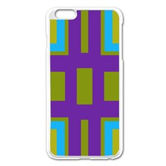 Angles and shapes                                                 Apple iPhone 6 Plus/6S Plus Enamel White Case