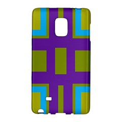 Angles and shapes                                                 			Samsung Galaxy Note Edge Hardshell Case