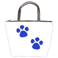 Blue Paws Bucket Bags