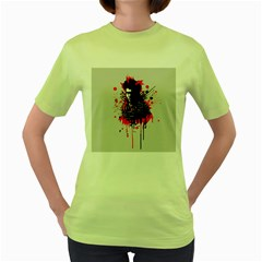 Bangarang Women s Green T-Shirt