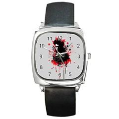 Bangarang Square Metal Watch