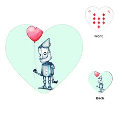 Tin Man Playing Cards (Heart)