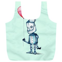 Tin Man Full Print Recycle Bags (L)