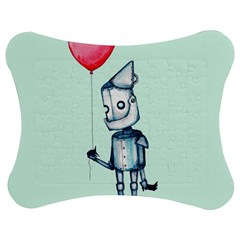 Tin Man Jigsaw Puzzle Photo Stand (Bow)
