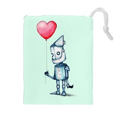 Tin Man Drawstring Pouches (extra Large)