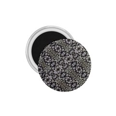 Silver Oriental Ornate  1.75  Magnets