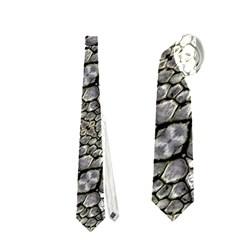 Silver Oriental Ornate  Neckties (Two Side)