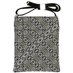 Silver Oriental Ornate  Shoulder Sling Bags