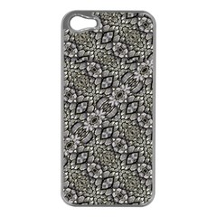 Silver Oriental Ornate  Apple iPhone 5 Case (Silver)