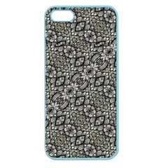 Silver Oriental Ornate  Apple Seamless iPhone 5 Case (Color)