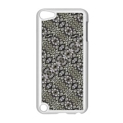 Silver Oriental Ornate  Apple iPod Touch 5 Case (White)