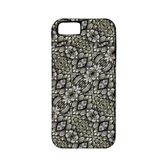 Silver Oriental Ornate  Apple iPhone 5 Classic Hardshell Case (PC+Silicone)