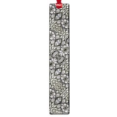 Silver Oriental Ornate  Large Book Marks