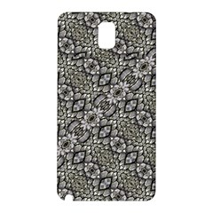 Silver Oriental Ornate  Samsung Galaxy Note 3 N9005 Hardshell Back Case