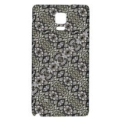 Silver Oriental Ornate  Galaxy Note 4 Back Case