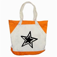 Double Star Accent Tote Bag