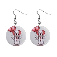 They All Float Mini Button Earrings