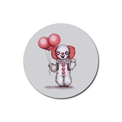 They All Float Rubber Coaster (Round)
