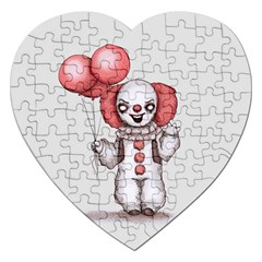 They All Float Jigsaw Puzzle (Heart)
