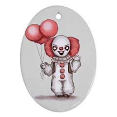 They All Float Oval Ornament (Two Sides)