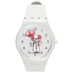 They All Float Round Plastic Sport Watch (M)