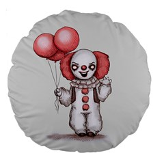 They All Float Large 18  Premium Round Cushions