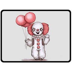They All Float Double Sided Fleece Blanket (large)