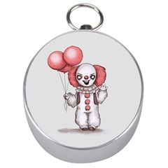 They All Float Silver Compasses