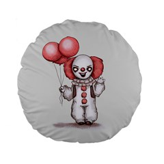 They All Float Standard 15  Premium Flano Round Cushions